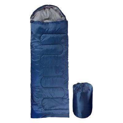 자니 캠핑 사계절 경량 침낭 1800g 블루 동계 겨울