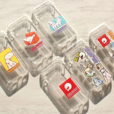 미스터두낫띵 - iPhone 7/7s/8/X Clear soft case