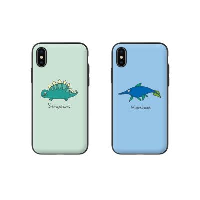 [갤럭시S10플러스/G975] 공룡 자석 도어 범퍼케이스