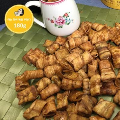 [태국과자여행] 롤바나나 칩 180gx2봉