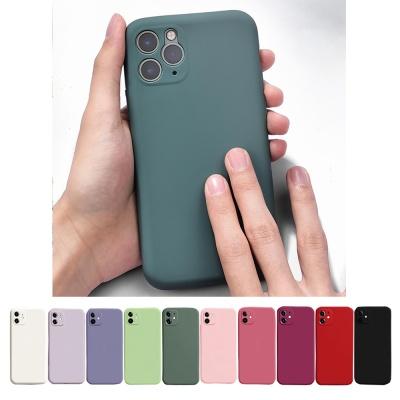 아이폰12/pro 파스텔 컬러 젤리 카메라보호 폰 케이스