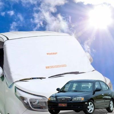 뉴아반떼XD 자동차 앞유리 햇빛가리개