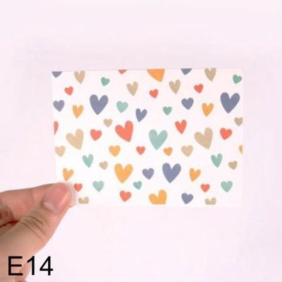 문구 DNF 사랑스러운 하트 편지지 사랑타고 E14 1개