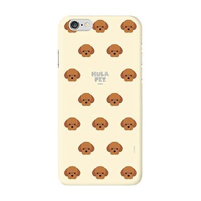 HULA PET PATTERN CASE (Poodle) / 아이폰 케이스