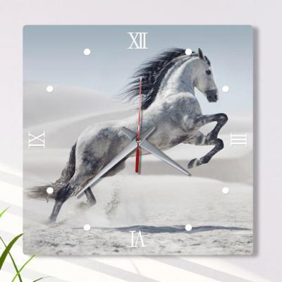 af873-아크릴시계_성공을상징하는백마
