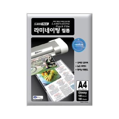 라미에이스 프리미엄 코팅필름 100MIC A4(100매)