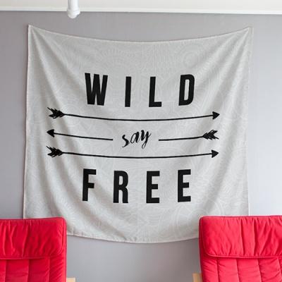 [헬로우아티스트] Wild say free 태피스트리 TATN184N