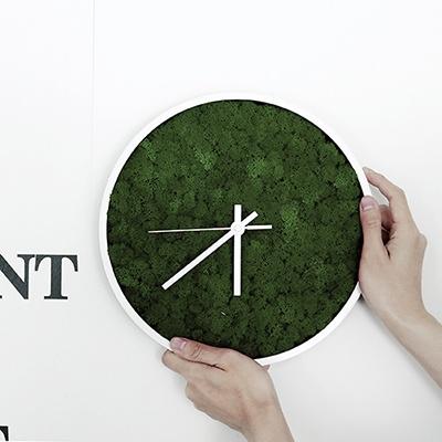 [앨빈디자인] 스칸디아모스 인테리어 벽시계 7colors