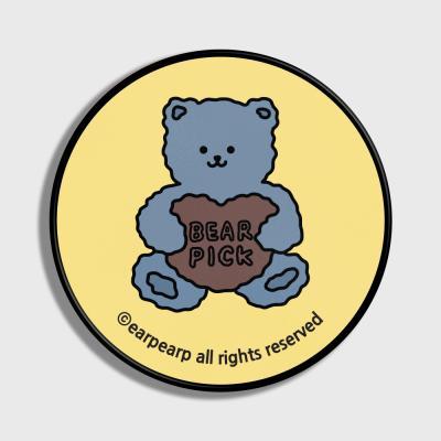 Bear pick-Creamyellow(스마트톡)