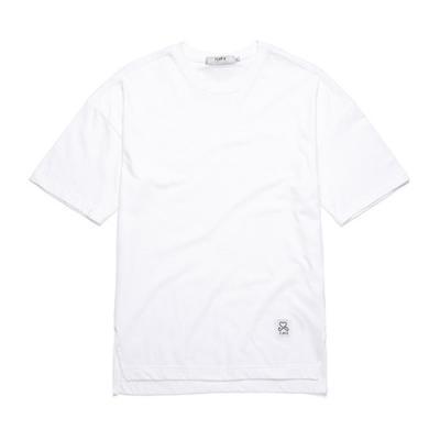 BASIC OVER FIT T-SHIRTS (WHITE)  무지티 자수티
