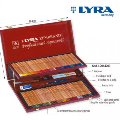 리라 램브란트 아쿠아렐(수채색연필) 기프트세트 선물 / 컬러링