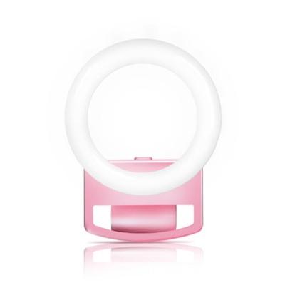 플래시 조명 셀카 LED 뷰티 휴대용 링라이트 밝은피부