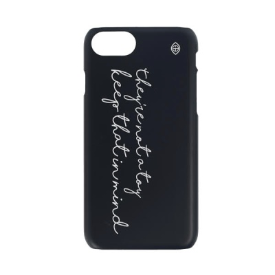 LETTERING PHONE CASE black 후원 폰케이스 비코