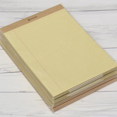옥스포드 A4 60매×10권 크라프트 리갈패드 ALP07301