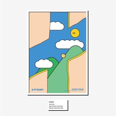 [KEEERI x BFMA] EVERYTHING 포스터 A4,A3 - TRIP