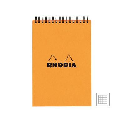 로디아 클래식 스프링 패드 A5 오렌지 격자(16500)