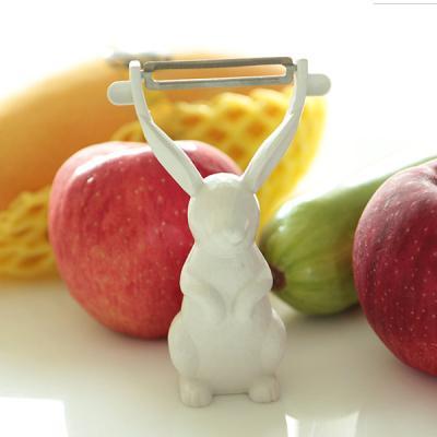 쁘띠팡 토끼 채칼 양날 필러 감자칼