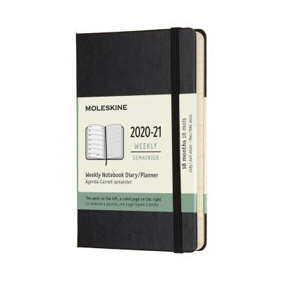 몰스킨 2021위클리(18M)/블랙 하드 P