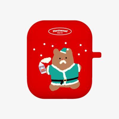 산타 gummy 에어팟 케이스 [red]