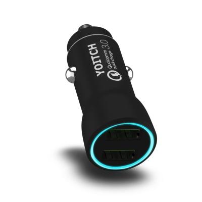 차량용 고속 충전기 멀티소켓 시거잭 듀얼 USB 앨빈 2