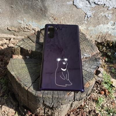 천연기념물이 너무예뻐 반달가슴곰 휴대폰 케이스