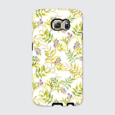[듀얼케이스] Floral Leaf-C (갤럭시)