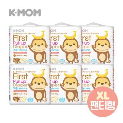 케이맘 처음 팬티기저귀(특대형) 6팩