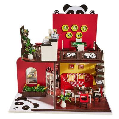 [adico]DIY 미니어처 하우스 - 판다 하우스
