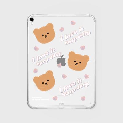 I love it earp bear (아이패드-투명)