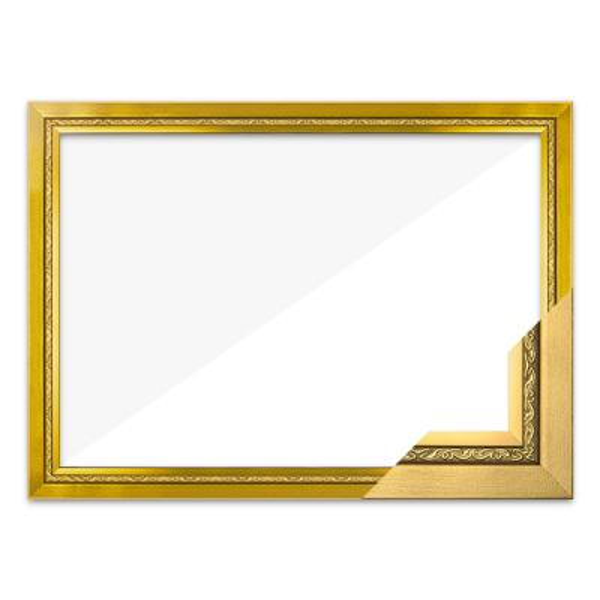 퍼즐액자 21x28.5 고급형 그레이스 골드