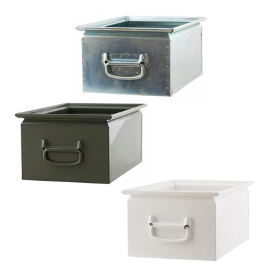[House Doctor]Storage BOX 2 Large 3Colors 다용도박스