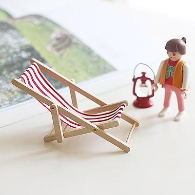 [콩지] 미니 라운지 비치 의자