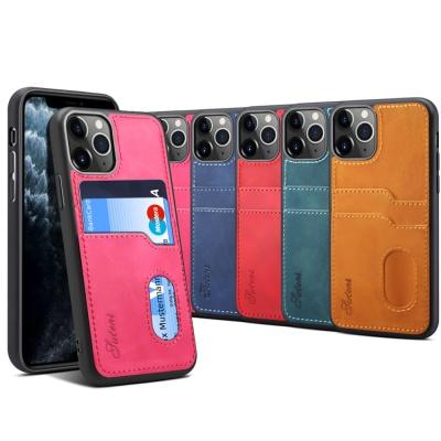 아이폰11pro max 프로 심플 카드 수납 지갑 케이스