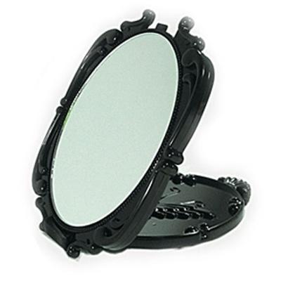 엔틱 타원 접경 탁상거울