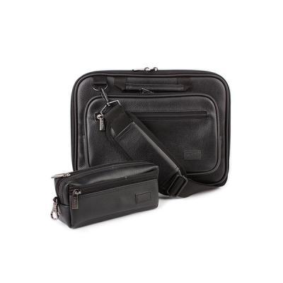 노트북가방 14.1인치(포켓형) 오플가죽 블랙