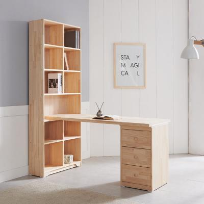 [노하우] 케이 소나무원목 h형 1600 책상세트