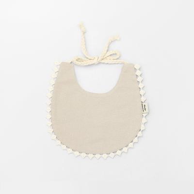 [메르베]브리즈빕 베이지 아기턱받이/침받이_사계절용