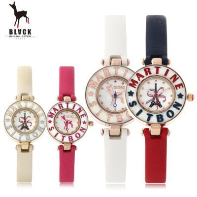 [블랙마틴싯봉] 여성 가죽 손목시계 BKL1525L