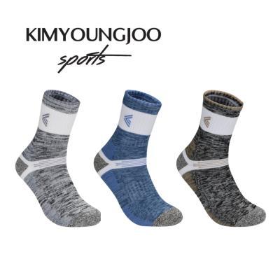 KYJ 레귤러 하이쿠션 퍼포먼스 골프양말 남성 김영주