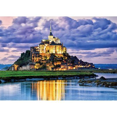 2000피스 직소퍼즐 - 몽생미셸 성의 구름낀 하늘