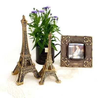 프랑스 골드 에펠 타워 2p set (L)
