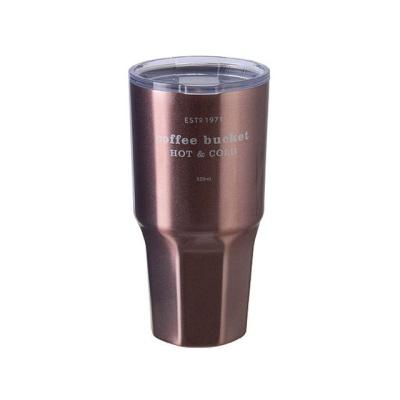 코멕스 빅샷 텀블러 핑크 520ml 휴대용 보온보냉 물병