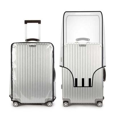 여행용 PVC 캐리어 투명 커버 - 22in.ch