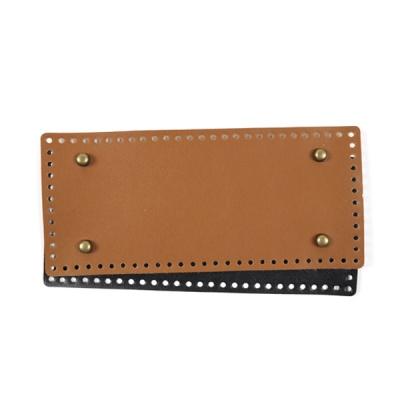 [앵콜스] '징' 가방 가죽바닥(직사각형) 코바늘 가방