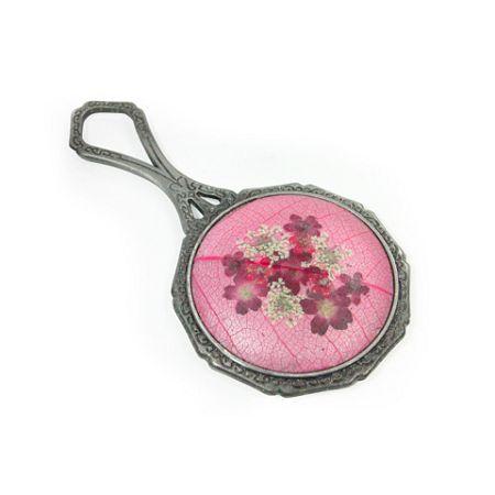 누름꽃 손거울 - 비발디(Pink)