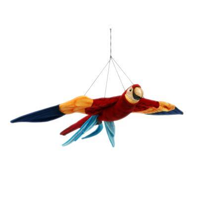 3404번 홍금강앵무 Flying Scarlet Macaw/112*90cm