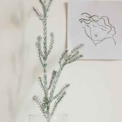 스노우 파인 트리 가지(크리스마스 장식/소품)