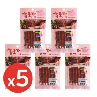 홈쿡(70g) 오리안심껌말이 6p x5개 강아지간식