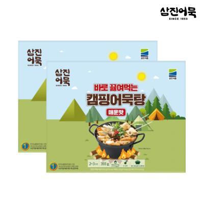 [삼진어묵] 캠핑어묵탕 (매운맛) x 2개