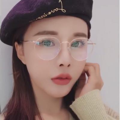 블루라이트 청광 차단 눈 시력 보호 안경_ 블랙골드